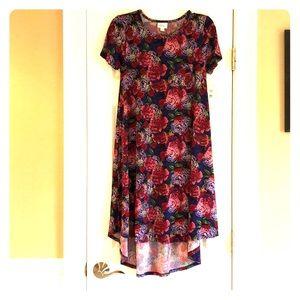 NWT XXS LuLaRoe Floral Carly - Slinky Material!!!